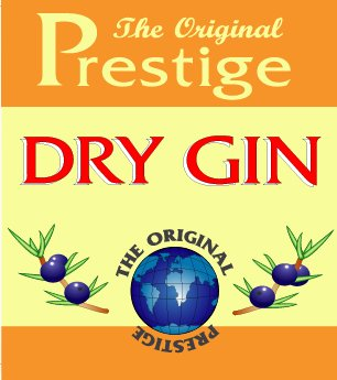 41033 Dry Gin